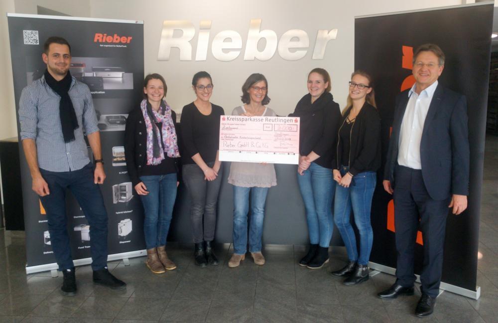 Spendenaktion Der Firma Rieber In Reutlingen Fur Den Ambulanten